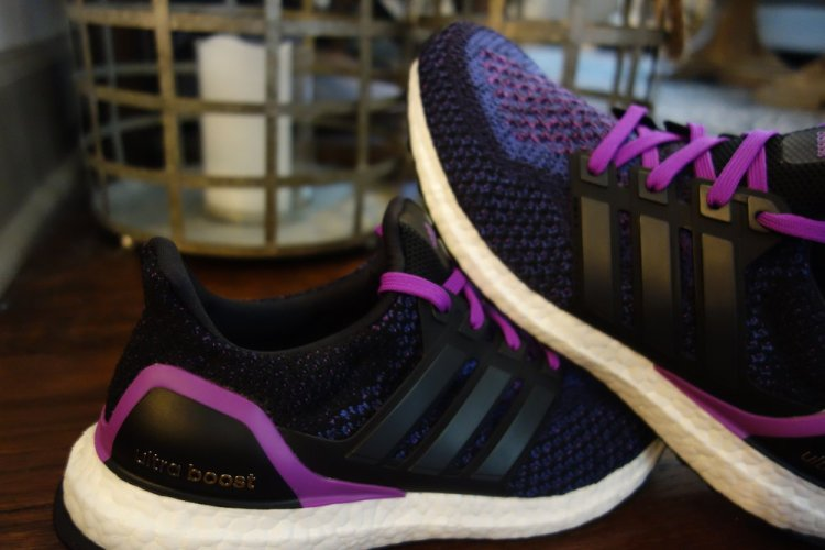 Adidas Ultra Boost running shoes are the perfect shoe for me. They have a 10mm heel-to-toe drop. After being fitted for shoes due to shin, knee and IT band problems I found that was the fit for me. Brooks have some good stable shoes as well, but these are much better looking. They are pricey, but worth it. Shout out to my gal Linds for helping with these ;)